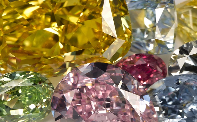 coloured diamond diamonds fancy of types natural color colour