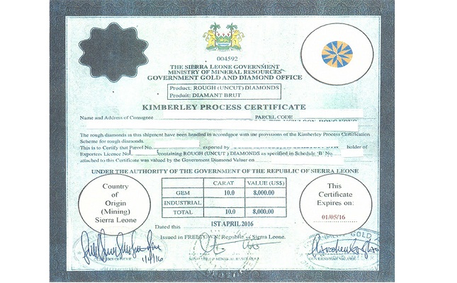awdc issues alert over fake sierra leone kp certificates