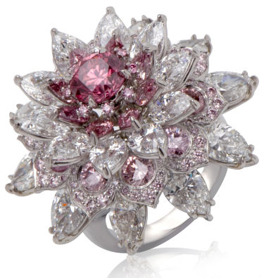Argyle Pink Diamond Jewelry Outlet Opens In India